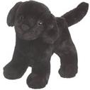 Svart Labrador, 25cm från Douglas mjukisdjur säljs på Nalleriet.se