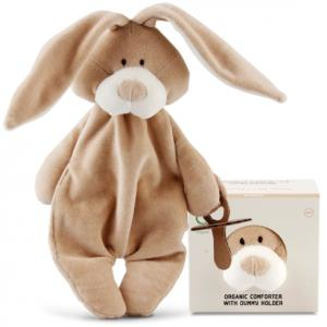 Wooly Napphållare/Snuttekanin - Ekologiskt mjukisdjur