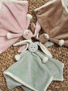 Diinglisar Snuttefilt Special Edition kanin från Teddykompaniet