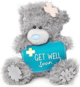 Nalle Get well soon, 13cm från Me to you (Miranda nalle) säljs på Nalleriet.se