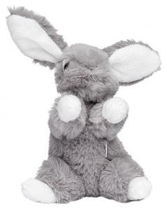 Kanin Lollo, grå, 16cm, grå - Molli Toys | Nalleriet.se