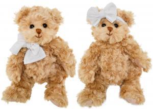 Nalle Little Daniel & Girlfriend, 25cm, från Bukowski Design säljs på Nalleriet.se