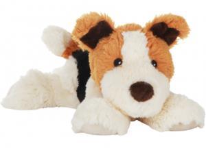 Värmenalle Hunden Hugo från Habibi Plush (micronalle) säljs på Nalleriet.se
