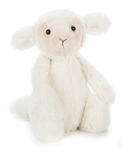Bashful Lamm (vit), 30cm från Jellycat