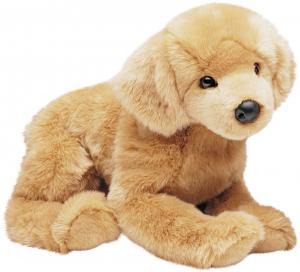Golden Retriever (stor) från Douglas mjukisdjur säljs på Nalleriet.se