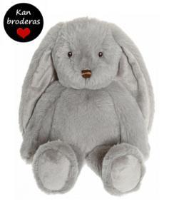 Kaninen Svea, grå - Teddykompaniet | Nalleriet.se