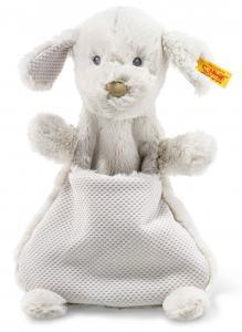 Hunden Baster snuttefilt, Soft Cuddly Friends från Steiff säljs på Nalleriet.se