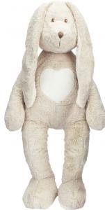 Kanin Teddy Cream XL, Stort mjukisdjur, 70cm, från Teddykompaniet