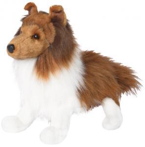 Sheltie (Shetland Sheepdog) från Douglas mjukisdjur säljs på Nalleriet.se