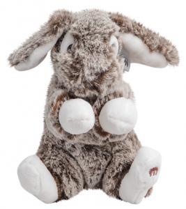 Kanin Luna, mörkbrun, 16cm, Mörk brun - Molli Toys | Nalleriet.se