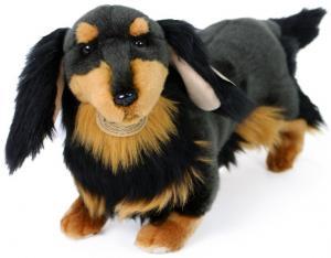 Tax svart/brun från Rappa Toys säljs på Nalleriet.se