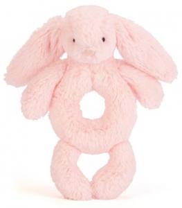 Bashful Bunny Skallra, rosa från Jellycat