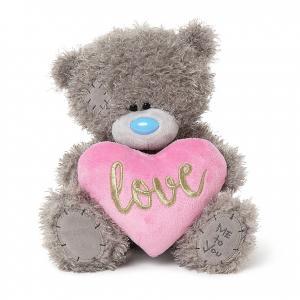 Nalle med rosa hjärta Love, 25cm - Me To You