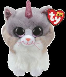 Beanie Boos Asher Katt med horn TY Gosedjur | Nalleriet.se