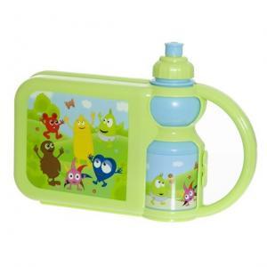 Babblarna Lunchbox med flaska från Teddykompaniet säljs på Nalleriet.se