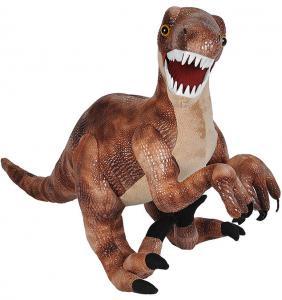 Stor Dinosaur Velociraptor, 70cm från Wild Republic
