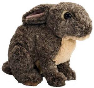 Kanin (grå), 30cm - Wild Republic