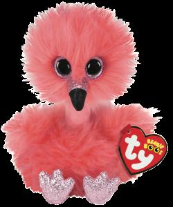Beanie Boos Franny (Flamingo) TY Gosedjur | Nalleriet.se
