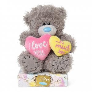 Nalle I love you so much på 2 hjärtan, 15cm från Me to you (Miranda nalle) säljs på Nalleriet.se