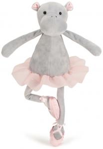 Dansande Darcey Flodhäst, 33cm från Jellycat