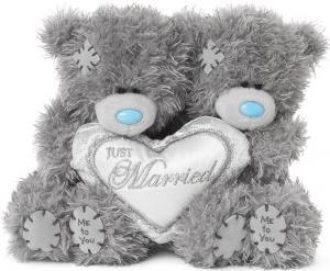Nallepar Just Married, 10cm, Me to you (Miranda nalle)säljs på Nalleriet.se