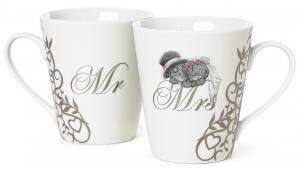 Mugg Mr & Mrs från Me to you (Miranda nalle) säljs på Nalleriet.se