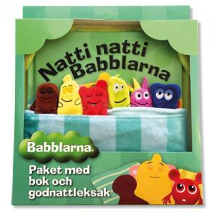 Babblarna Godnattsaga med mjuka vänner från Teddykompaniet säljs på Nalleriet.se