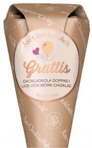 Grattis chokladstrut från Choklad från Åre Chokladfabrik