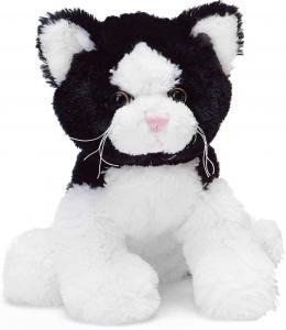 Teddy Katt, svart/vit - Teddykompaniet