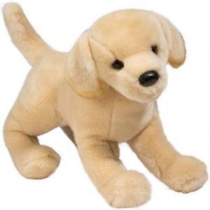 Gul Labrador mjukisdjur säljs på Nalleriet.se