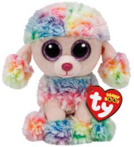 Beanie Boos Rainbow (Flerfärgad Pudel) TY Gosedjur | Nalleriet.se