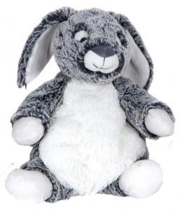 Kanin Melvin, mörkbrun, 21cm - Molli Toys | Nalleriet.se
