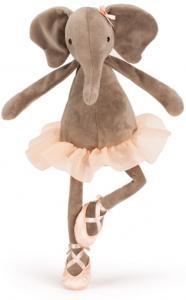 Dansande Darcey Elefant, 33cm från Jellycat