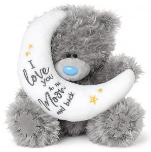 Nalle Love you to the moon, 20cm
