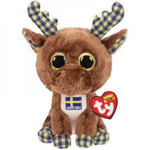 Beanie Boos Birger (Älg Sweden) TY Gosedjur | Nalleriet.se