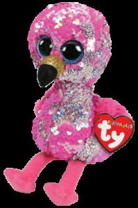 Flippables Pinky (Flamingo) - TY Gosedjur | Nalleriet.se