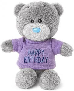 Nalle Happy Birthday, 10cm, Me to you (Miranda nalle)säljs på Nalleriet.se