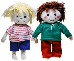 Totte & Emma (Mjuk docka)