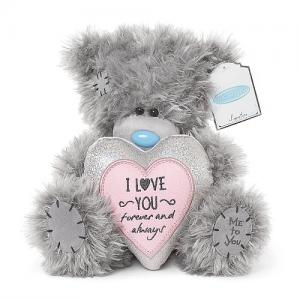 Nalle I love you forever and always, 20cm