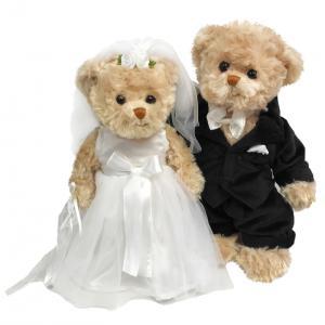 Bröllopspar från Bukowski Design säljs på Nalleriet.se