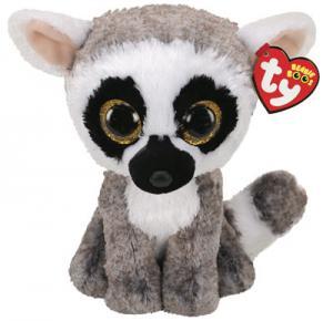 Beanie Boos Linus (Lemur) TY Gosedjur | Nalleriet.se