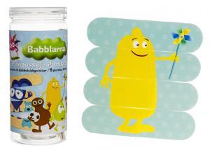 Babblarna Pinnpussel från Teddykompaniet säljs på Nalleriet.se
