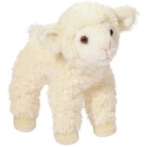 Lamm som bräker (med ljud) från Douglas Mjukisdjur säljs på Nalleriet.se