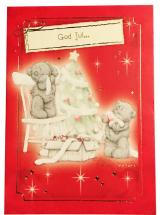 Kort, God Jul (Nallar klär granen) - Me To You