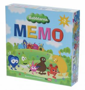 Memo (Babblarna) från Teddykompaniet säljs på Nalleriet.se