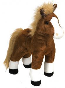 Häst, brun, 30cm från Wild Republic