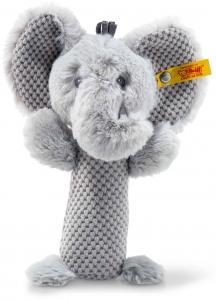 Ellie Elefant skallra, Soft Cuddly Friends från Steiff säljs på Nalleriet.se