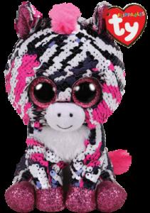 Flippables Zoey (Zebra) - TY Gosedjur | Nalleriet.se