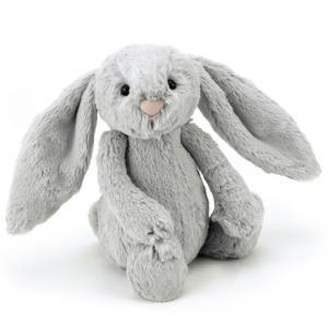 Bashful Kanin grå, 31cm från Jellycat