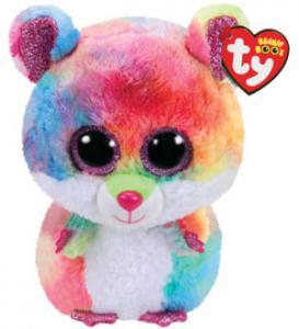 Beanie Boos Rodney (Flerfärgad Hamster) TY Gosedjur | Nalleriet.se